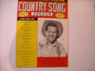 Country Song Roundup Magazine Vol. 1 No. 29 February 1954 Rex Allen Cover!