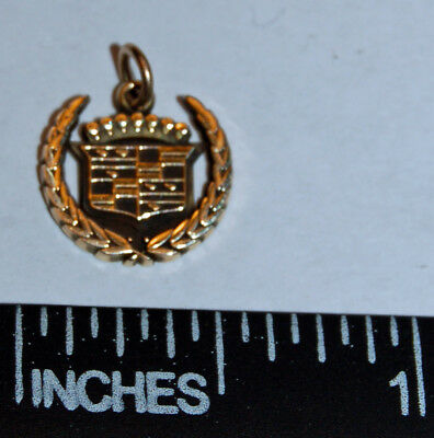 Cadillac 10k yellow gold charm or pendant