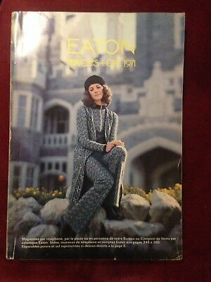 Vintage Eaton's Spring and Summer / Printemps + Été 1971 Catalog French Rare