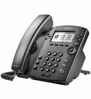 Polycom VVX 311 6-Line IP  PY-2200-48350-0 Phone Gigabit PoE Media Phone