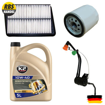 Filter & Oil Kit 2.4L, Cherokee, Liberty KJ Jeep Cherokee, Liberty KJ 2002/2003