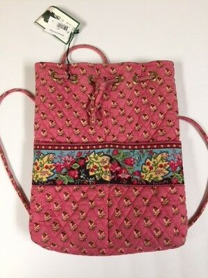 Vera Bradley Pink Pansy lot includes Backsack  PLUS - (Retired) Print SOME NWT