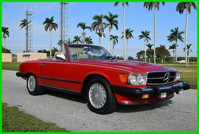 1989 Mercedes-Benz 500-Series 2 Dr Convertible 1989 2 Dr Convertible Used 5.6L V8 16V Automatic RWD Convertible