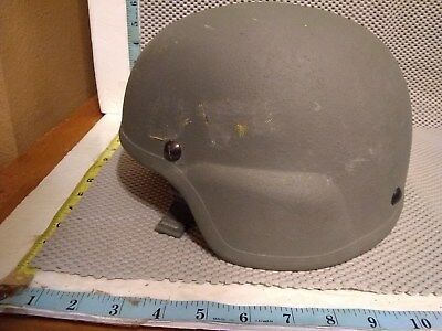 Advanced Combat Helmet (ACH), MEDIUM W/ H-Harness and New Pads, SDS W COVER