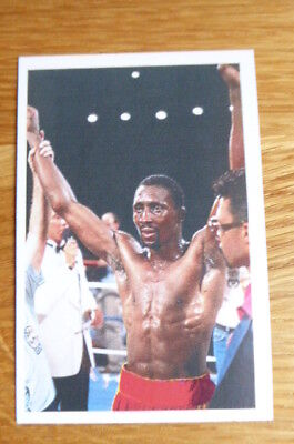 Thomas Hearns  Boxing Question Of Sport Card 1987  Mint