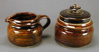 Arabia of Finland Mahonki Creamer and Covered Sugar - Ship to North America Only