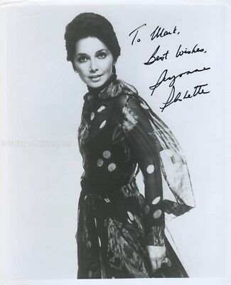 Suzanne Pleshette - Inscribed Photograph Signed