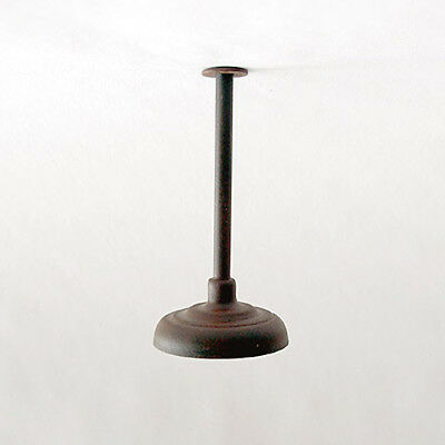 G-Scale Model Train Building/Depot/Station Ceiling Lamp/Light Weathered NEW