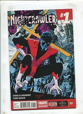 Nightcrawler #1 - Signed By Chris Claremont! - (9.2) 2014