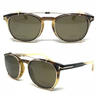 Occhiali Tom Ford Private Collection N.14 Ft4598 64H Sunglasses Natural Horn