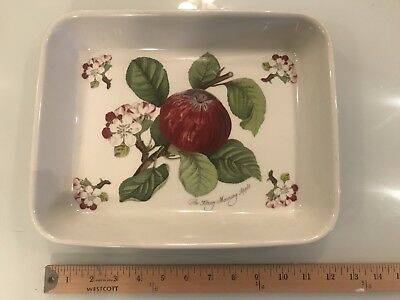 "Pomona Portmeirion The Hoary Morning Apple 12"" x 10"" Rectangle Casserole Dish"