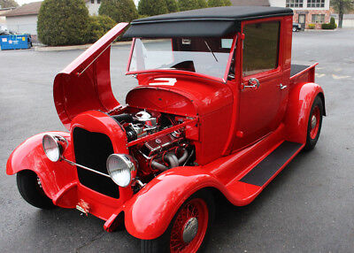 1928 Ford Model A  1928 Ford Pickup Hot Rod - World Class Build - Model A Truck 350 Hotrod