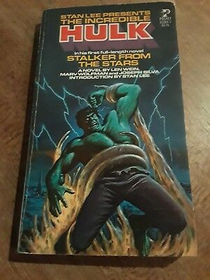 The Incredible Hulk Stalker From the Stars, Stan Lee, Wein, vintage paperback