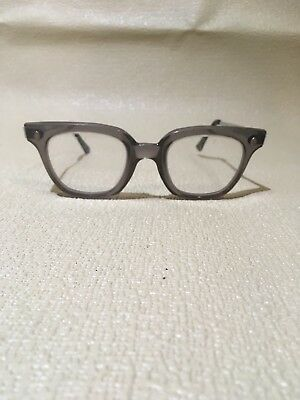 Vintage Fendall Safety Glasses T-30 Multi-fit Temple, Gray