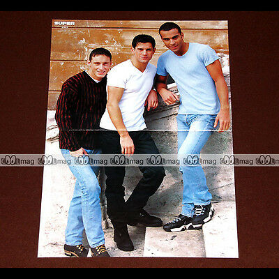 2 BE 3 FRANK, ADEL & FILIP NIKOLIC (Boys Band 90's 2be3) - Poster #PM960