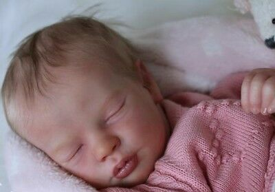 "Reborn Doll Kit ""realborn Sleeping Pricilla"" 18"" (Unpainted)"