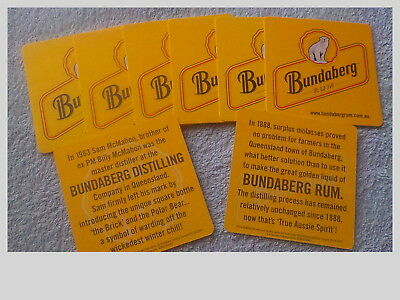 Bundaberg Rum Drink Coasters