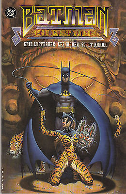 BATMAN LAST ANGEL..VF/NM+..1994..100 Pages..2nd Print..Eric Lustbader...Bargain!