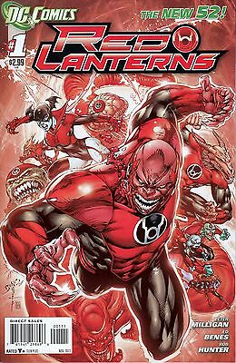 RED LANTERNS 1A...VF/NM+...2011...New 52...Peter Milligan...Bargain!