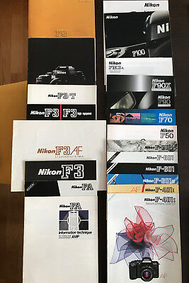 Nikon brochure collection / analog system