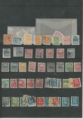 Estonia Collection 1919-1925 on Stock Page, Loaded With Early Stamps