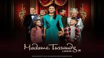 Madame tussauds tickets- London