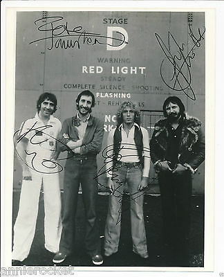 "The Who- 8"" X 10"" B & W Photo-Townshend-Daltrey-Entwisle-Keith Moon-1970's-#692"