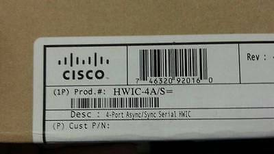 NEW CISCO HWIC-4A/S 4 PORT  HIGH SPEED WAN NETWORK CARD for  ROUTER