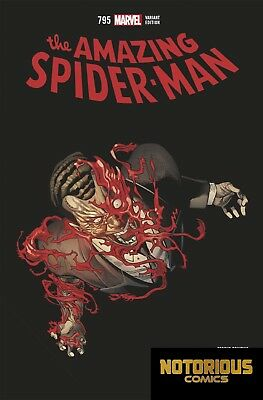 Amazing Spider-Man #795 2nd Print Variant Marvel Comics 03/14