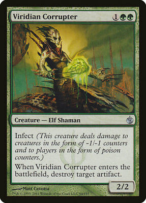 MTG Viridian Corrupter [English, Mirrodin Besieged, Free P&P]