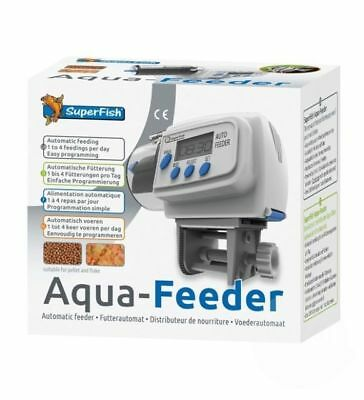 Superfish Aqua Feeder - Automatic Aquarium Feeder Holiday Fish Food