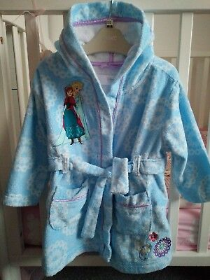 DISNEY STORE___FROZEN___dressing gown girl age 2 yrs