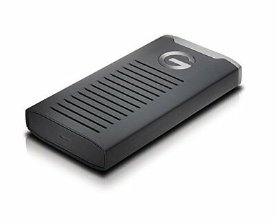 G-Technology G-DRIVE Mobile SSD R Series 2TB USB 3.1 Black New
