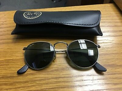 Vintage Bausch Lomb Ray Ban Classic Metals Round Sunglasses W1576