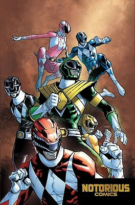 Mighty Morphin Power Rangers #25 Unlockable Match to Variant Boom Comics 03/28