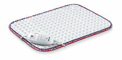 Beurer HK Comfort UK Edition Heat Pad with Cosy Snuggle Fleece Finish