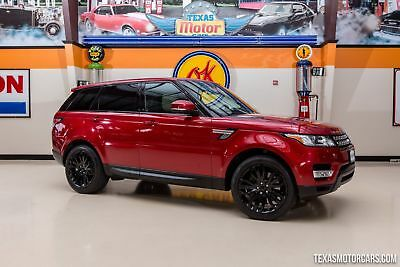 2014 Land Rover Range Rover Supercharged 4X4 2014 Red Supercharged 4X4!