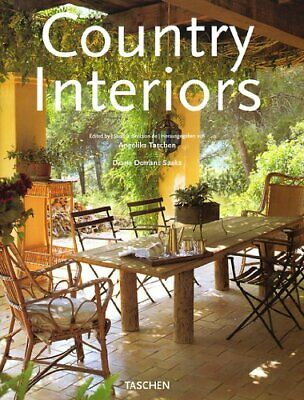 Country Interiors (Jumbo) by Saeks, Diane Dorrans Hardback Book The Cheap Fast