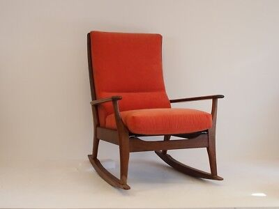 Pair of Vintage Retro Midcentury Style Rocking Chairs - Chair 1