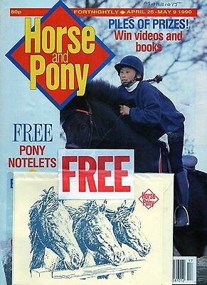 Vintage Horse & Pony Magazine - April 26-May 09 1990 - Complete!!!
