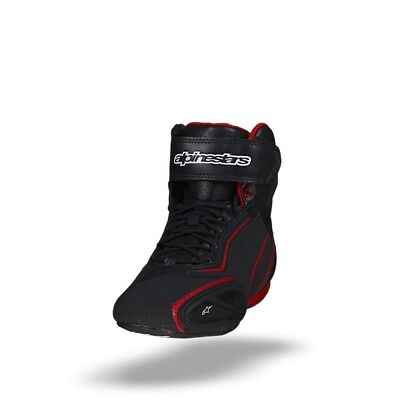 Alpinestars Faster-2 Black Red Vented Shoes