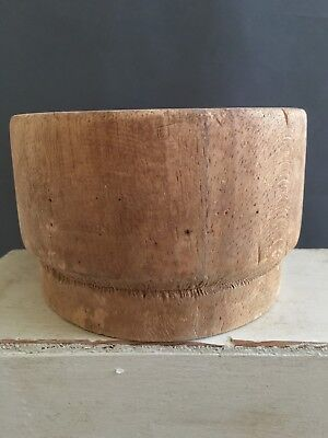 Vintage Balsa Wood Hat Block Size 23 Inches