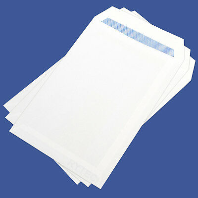 C5 / A5 Plain White Envelopes Self Seal 90GSM Opaque Office Letter Mail Home SS