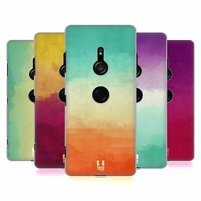 Head Case Designs Watercoloured Ombre Hard Back Case For Sony Phones 1