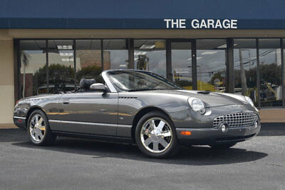 2003 Ford Thunderbird Premium '03 Ford Thunderbird Premium, 3.9 V8, Chrome Wheels, In Dash CD, Pwr Conv Top,