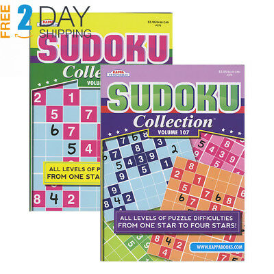 KAPPA Sudoku Collection Puzzle Book, Case of 48