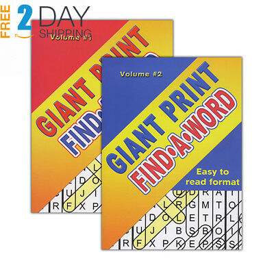 GIANT PRINT FIND-A-WORD PUZZLES BOOK > (Case of 48)
