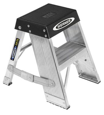 Werner SSA02 375-Pound Duty Rating Aluminum Step Stand, 2-Foot
