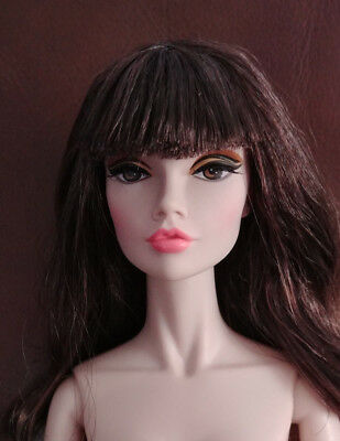 "Integrity Toys 16"" Nude - Poppy Parker - 'clear Over Here' Brown Hair - Lovely"