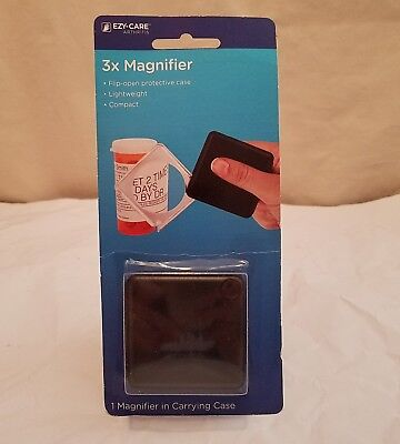 EZY-Care Arthritis, 3x Magnifier in Carrying Case